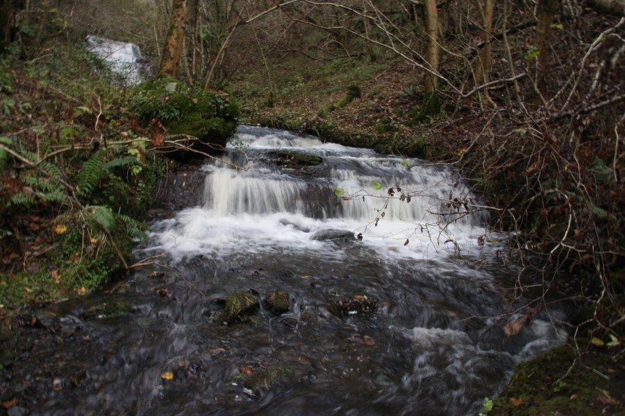 Cascade de la gurraz - lakes and waterfalls - peisey-nancroix - a stream called nant pudret makes this watherfall